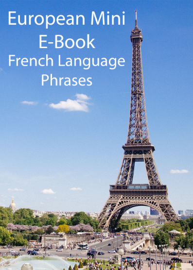 European Mini E-Book French Language Phrases