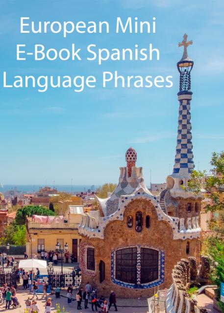 European Mini E-Book Spanish Language Phrases